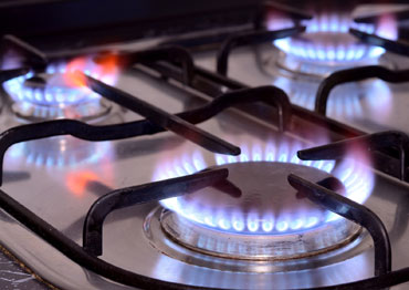 Propane Gas Cooktop